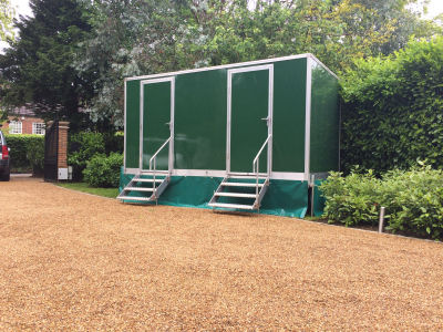 2+1 Luxury Toilet units for Hire Surrey