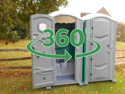 construction and building site portable toilet hire
