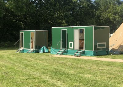3+1 and 1+1 Luxury Toilet units for hire in Surrey