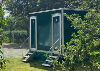 1+1 Luxury Toilet unit in Sussex for a wedding